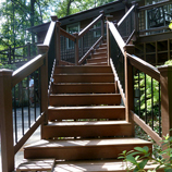 Macon Construction Company | Custom Deck by Johnston Contracting, LLC Company