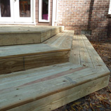Custom Deck by Johnston Contracting, LLC