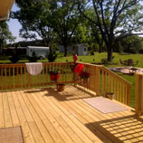 Middle Georgia Construction Company | Custom Deck by Johnston Contracting, LLC Company